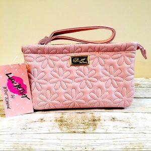 Luv Betsey By Betsey Johnson Light Pink Wristlet